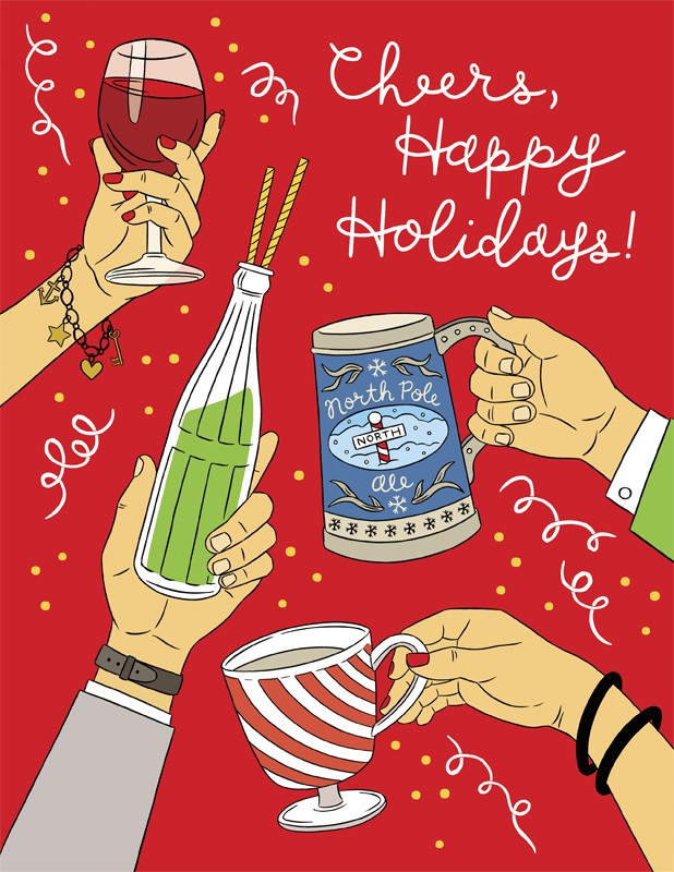 The Found Cheers Happy Holidays
