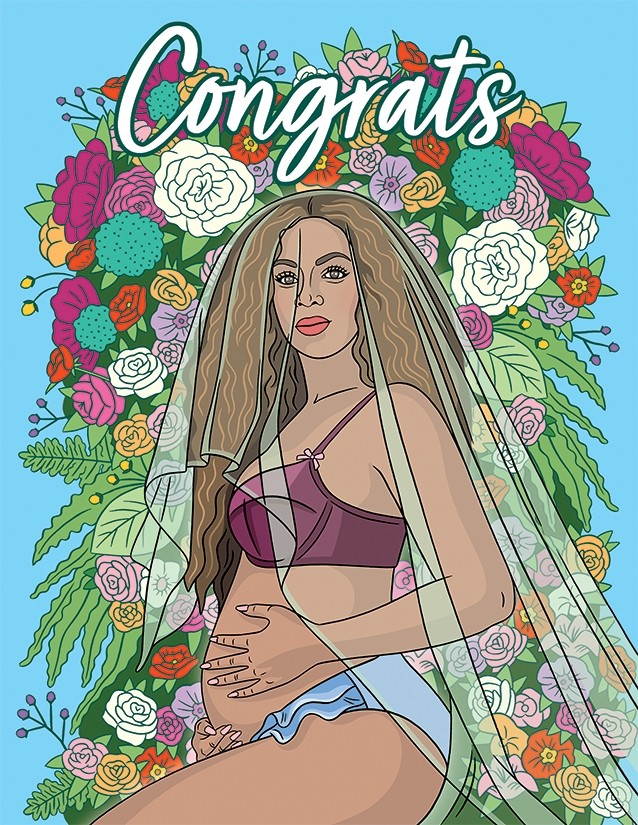 Congrats on your new Bey-b