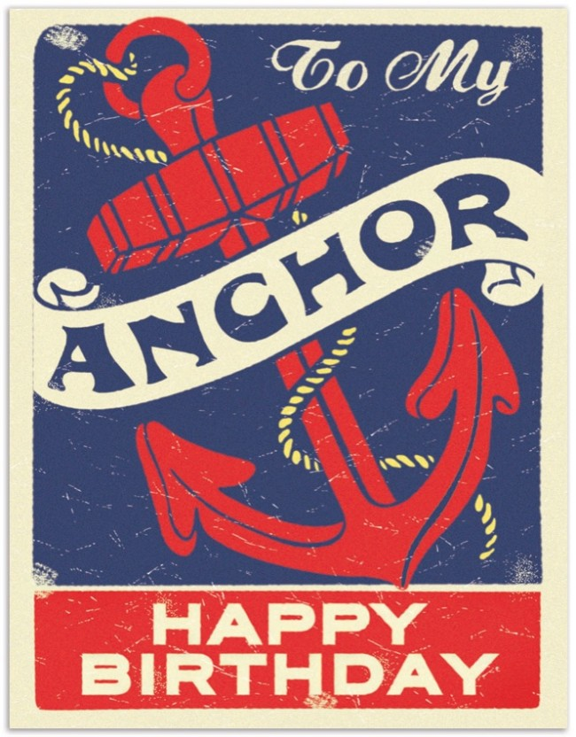 To My Anchor