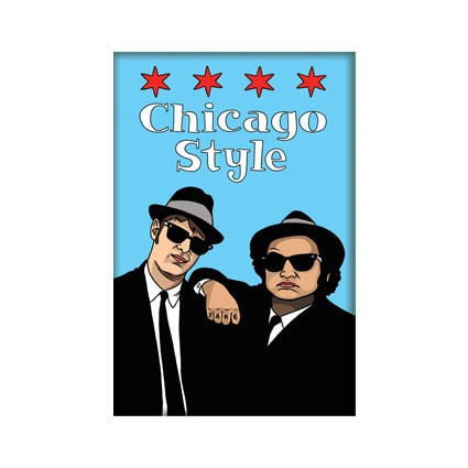 Magnet - Blues Bros Chicago Style