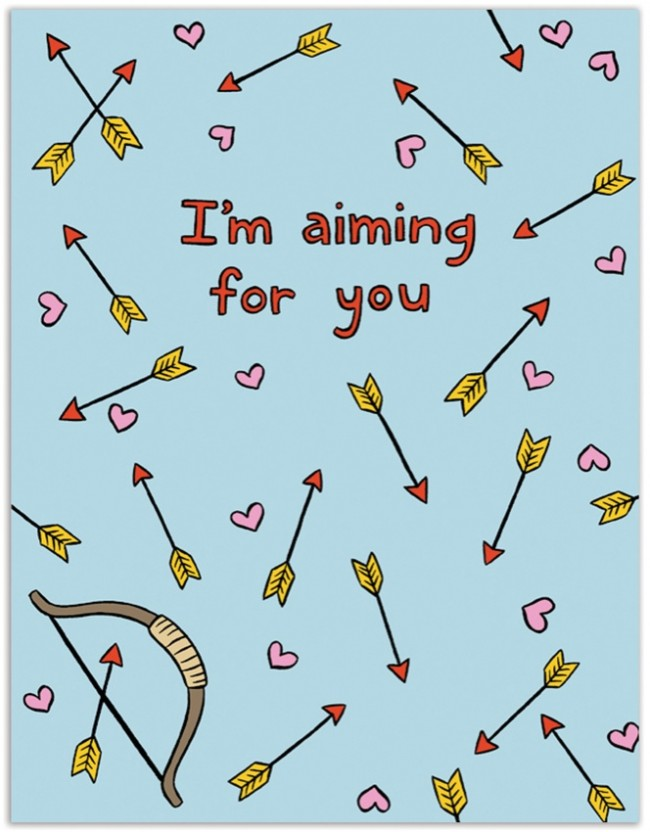 I'm aiming for you
