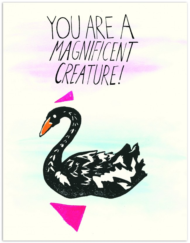 Black Swan Magnificient Creature HB