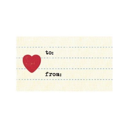 Tag - Heart Paper (10/pk)