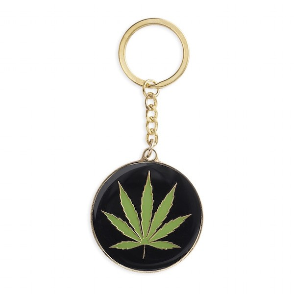 Key Chain - Weed leaf