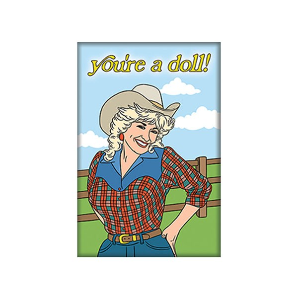 Magnet - Dolly Parton You're a Doll