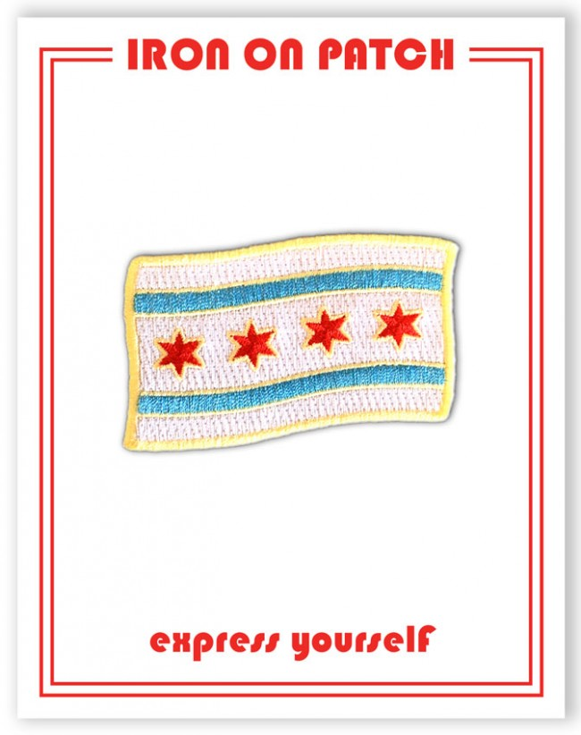 Patch - Chicago Flag