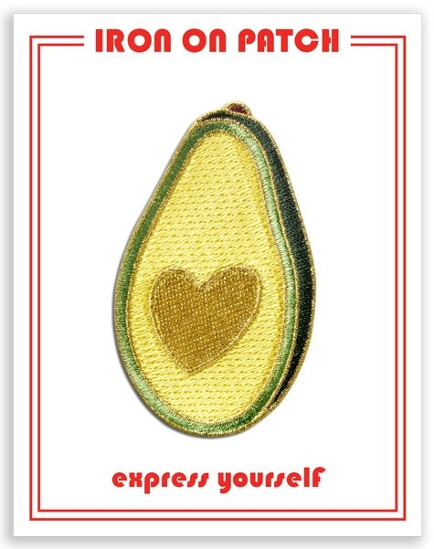 Patch - Avocado Heart