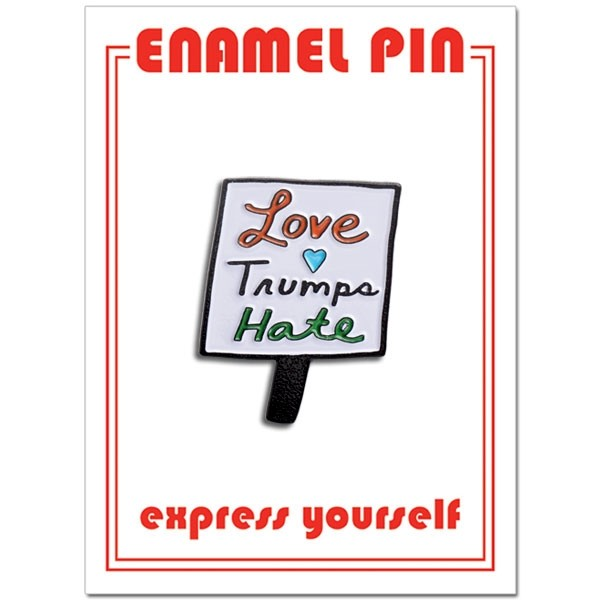 Pin - Love Trumps Hate