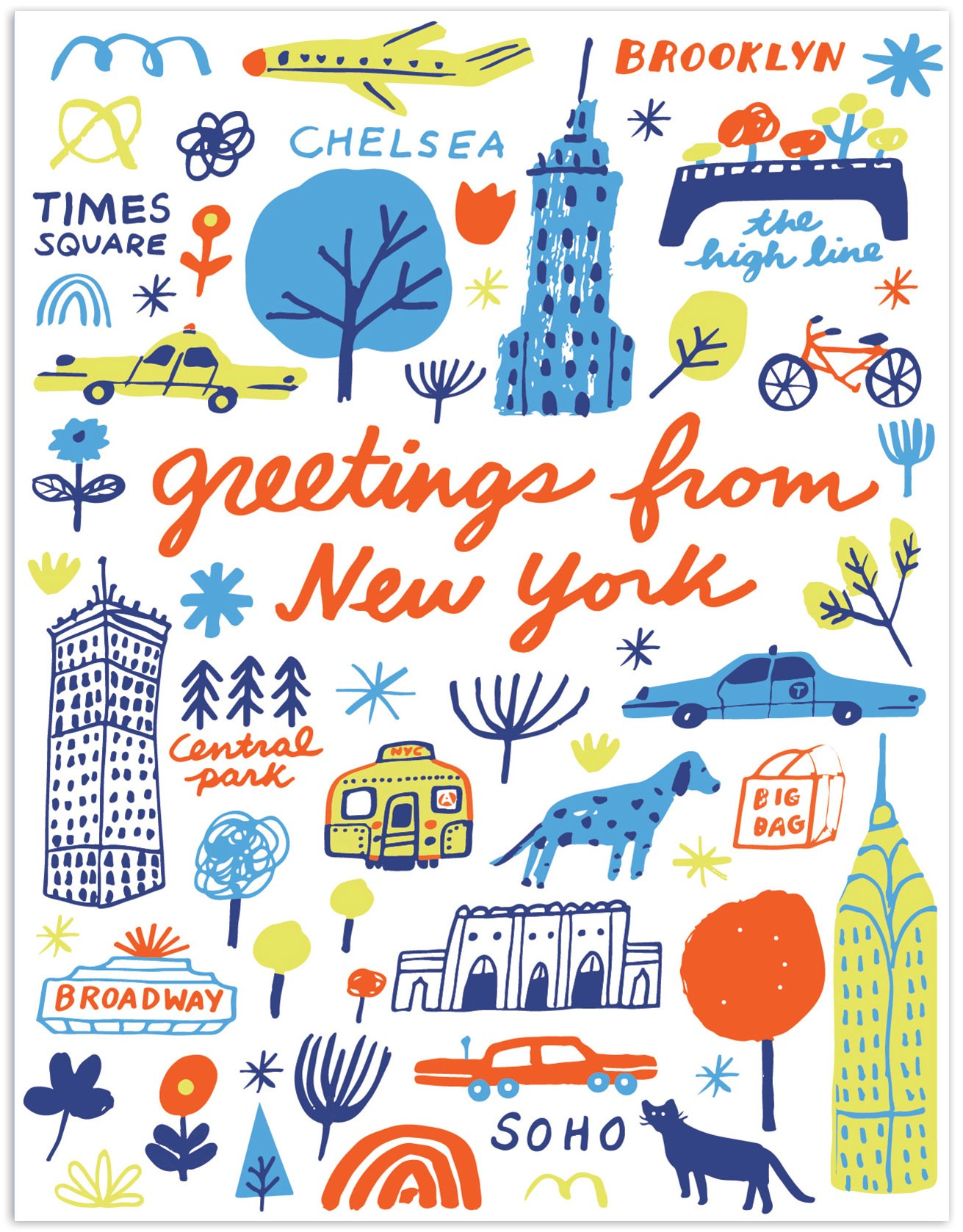 The found greetings from new york landmarks greetings from new york landmarks kristyandbryce Images