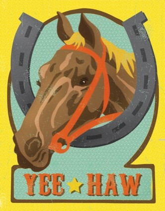 The Found Horse Yee Haw