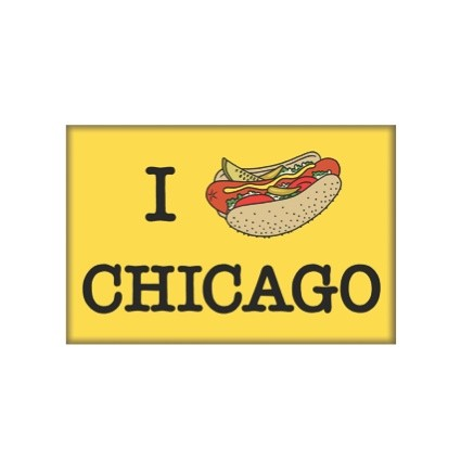 Chicago Hot Dog Signs For Sale
