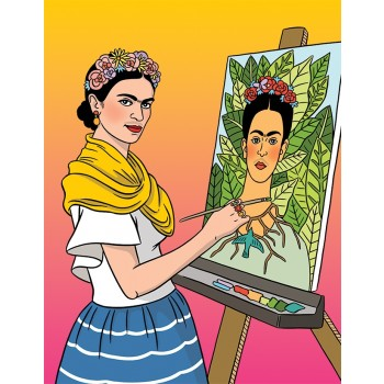 Artista Mexicana Self-Portrait Blank
