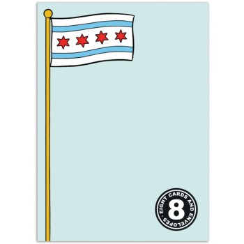 Chicago Flag (8/box)