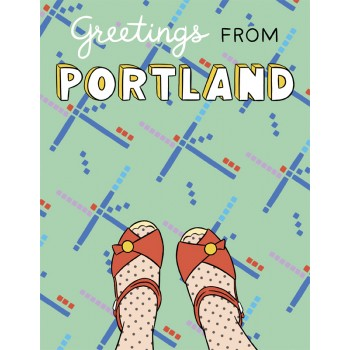 Portland-PDX Carpet Foot Selfie