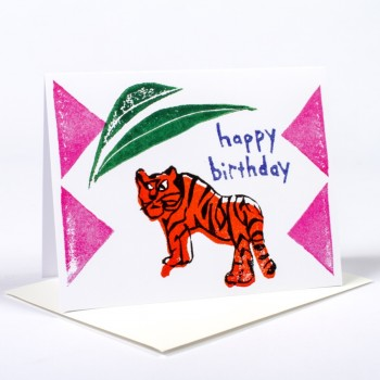 Birthday Tiger