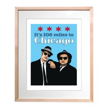 Art Print - Blues Brothers