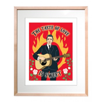 Art Print - Johnny Cash