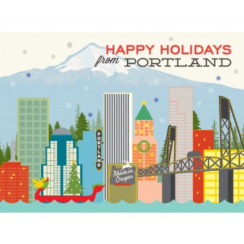 Portland Skyline Holiday