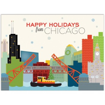 Chicago River Holiday