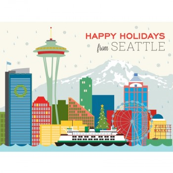 Seattle Skyline Holiday