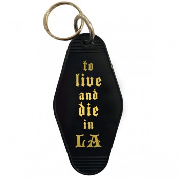 Key Tag - To Live and Die in LA