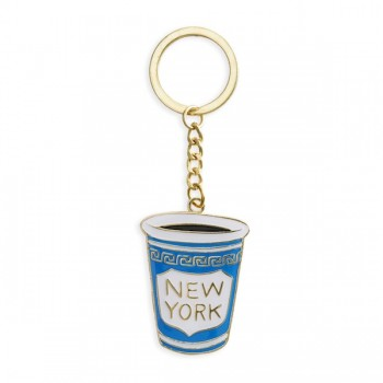 Keychain - New York Coffee Cup