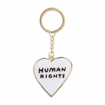Keychain - Human Rights Heart