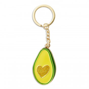 Keychain - Avocado Heart