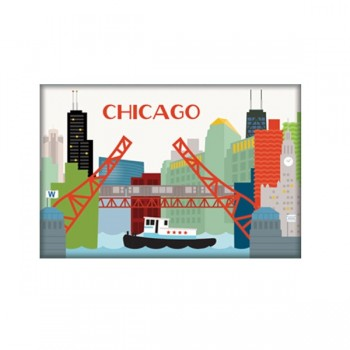 Magnet - Chicago Skyline