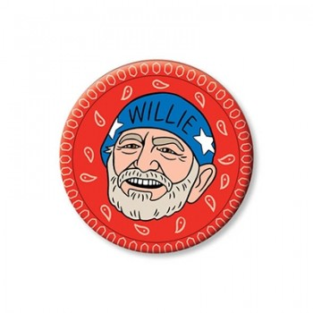 Round Magnet - Willie Nelson
