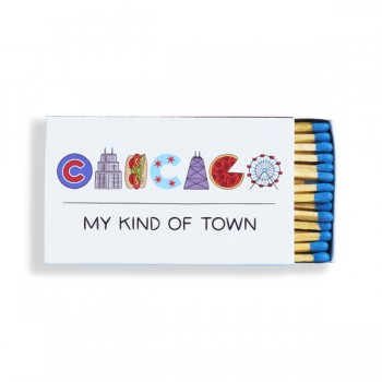 Matches - Chicago Icons Lettering