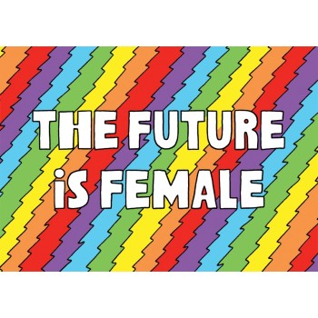 Postcard - The Future is Female