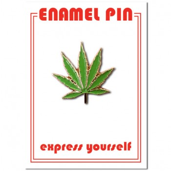 Pin - Marijuana Leaf