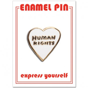 Pin - Human Rights Heart