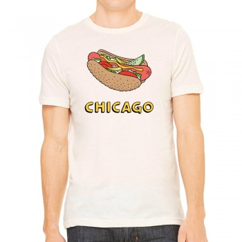 Hotdog on Cream T-Shirt