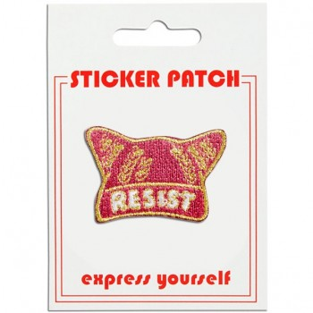 "Sticker Patch - Pussy Hat ""Resist"""