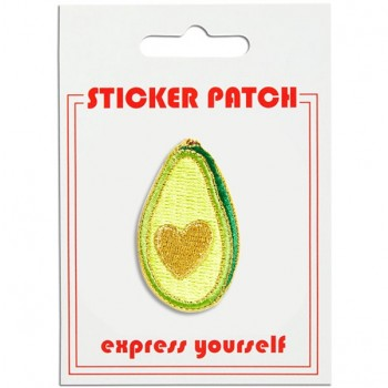 Sticker Patch - Avocado Heart