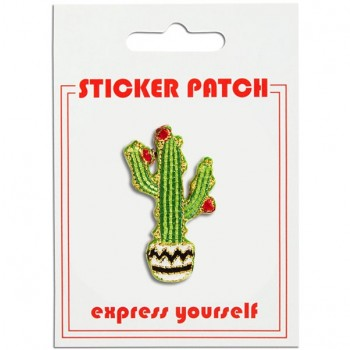 Sticker Patch - Saguaro Cactus
