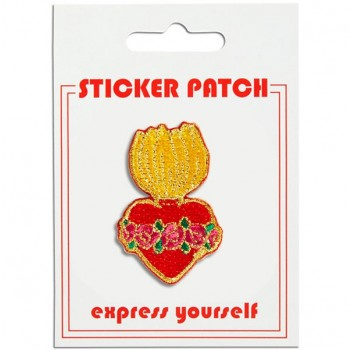 Sticker Patch - Burning Heart