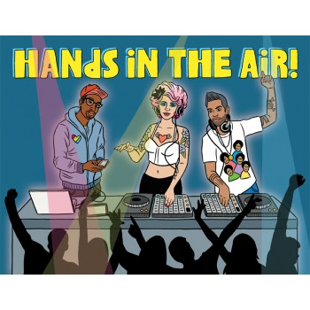 DJ-Hands in the Air!