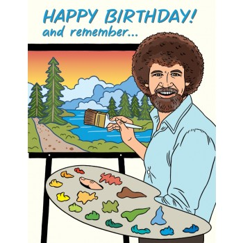 Bob Ross Birthday