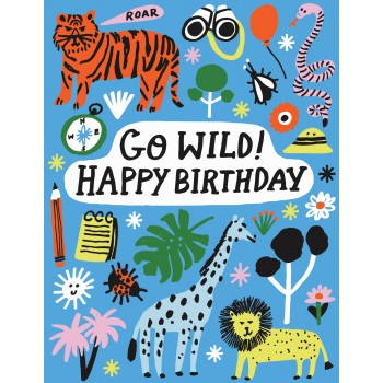 Go Wild! Happy Birthday