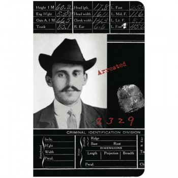 Mustache Man Journal