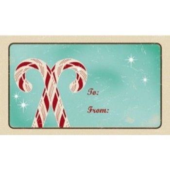 Tag - Candy Cane (10/pk)
