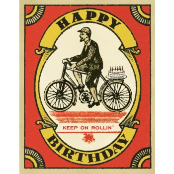 Cyclist with Cake-HB