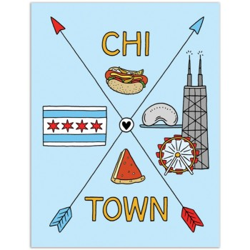 Crossed Arrows - Chi Town