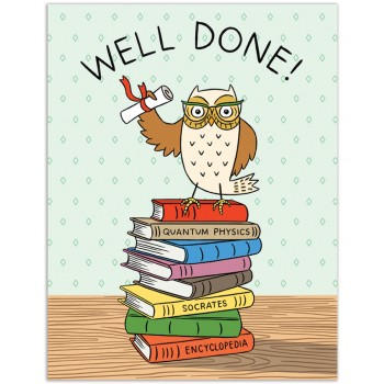 Grad Owl Well Done