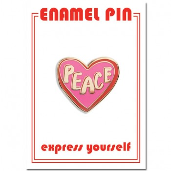 Pin - Peace Heart