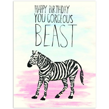 Zebra You Gorgeous Beast HB