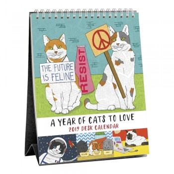 2019 A Year of Cats to Love